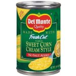 Cream Style Corn (Creamed Corn), US import